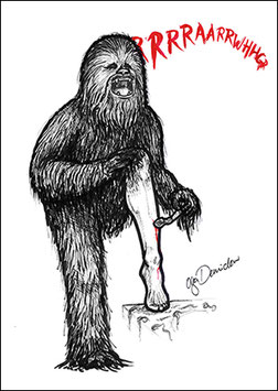 .ChewbaccAAAHHH Poster.
