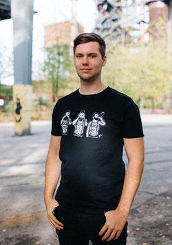 """.Männer & Unisex T-Shirt """"Karl Grey""""."""