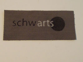 schwarts-Aufnäher