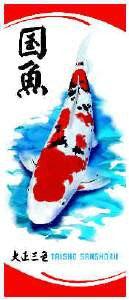 OSAGA Koi Fahne / Flagge Motiv: Sanke