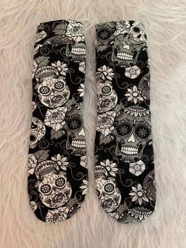 Socken Love Skulls Black