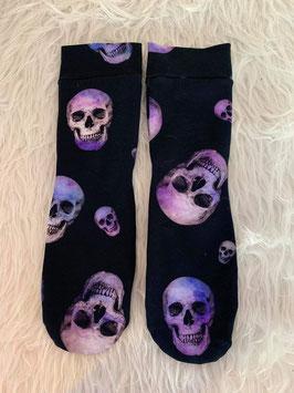 Socken Skulls Violet
