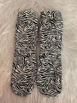 Socken New Zebra Black and White