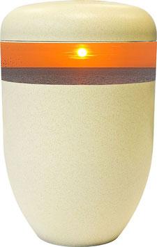 """20-215 Bio-Urne sandfarben """"Sonnenuntergang"""""""