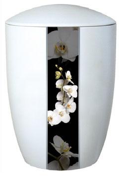 """6720 Keramikurne """"Orchideen"""""""