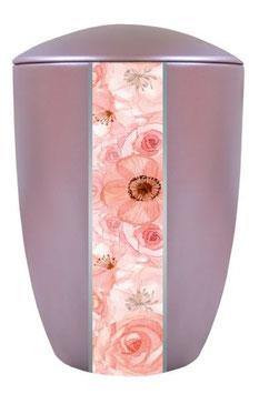 "6756 Keramikurne ""Flowers"""