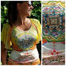 T-shirt met glitters