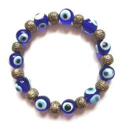 Armband Nazar Boncugu (Blaues Auge)