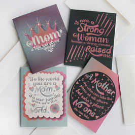 Set of Four Mother's Day Cards