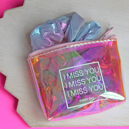 """""""I Miss You"""" Mini Pouch"""