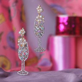 Bubbly Statement Earrings