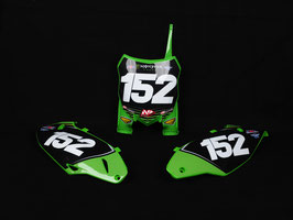 Numberplates Kawasaki Monster Energy Pro Circuit mit eurer eigenen Startnummer