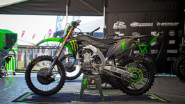 Dekor Kawasaki Monster Energy Matte Black