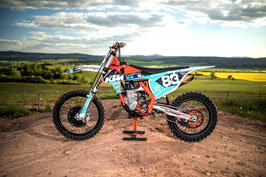 Dekor TLD KTM Washougal Edition Team Kit - Teal