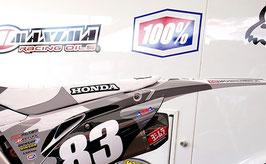 Numberplates Geico Honda 2020 Military Limited Edition mit eurer eigenen Startnummer