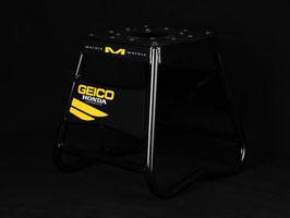 Motorradständer Matrix A2 Aluminium - Geico Honda Black - Yellow