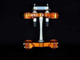 Neken Gabelbrücke SFS Air KTM - Farbe Orange - luftgefedert