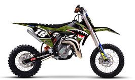Dekor mit Numberplates KTM SX50 - SX65 Military Limited Edition