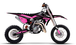 Dekor mit Numberplates KTM SX50 - SX65 Little Lady Limited Edition