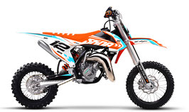 Dekor mit Numberplates KTM SX50 - SX65 Wave Limited Edition