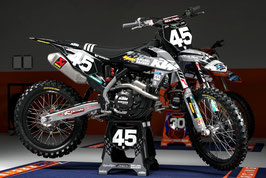 Dekor TLD Factory KTM Raceteam Edition Grey 2021