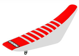 Sitzbankbezug Honda Red Top - White Sides - White Ribs