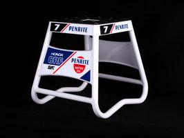 Motorradständer Matrix A2 Aluminium - Penrite Honda White