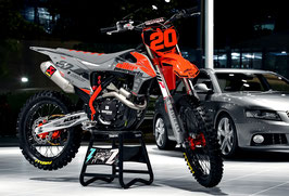 Dekor Diller Powerparts Factory KTM Grey Limited Edition