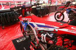 Sitzbankbezug Geico Honda 2019 Red Bud Limited Edition