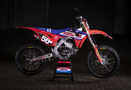 Dekor Honda Troy Lee Red Blue