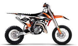 Dekor mit Numberplates KTM SX50 - SX65 Classic Limited Edition