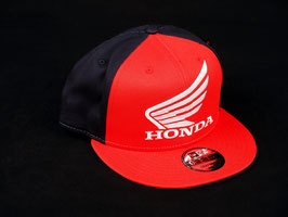 SNAPBACK CAP HONDA WING RED