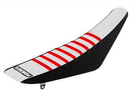 Sitzbankbezug Honda White Top - Black Sides - Red Ribs