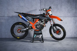 Dekor Factory KTM Grey - Orange Limited Edition