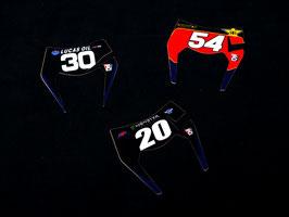 Enduro Miniplates - Numberplates
