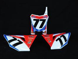Numberplates Ken Roczen HRC Factory Honda mit eurer eigenen Startnummer und eurem Namen