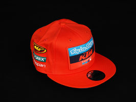 SNAPBACK CAP KTM TROY LEE ORANGE