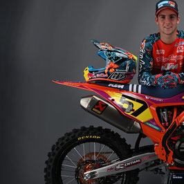 MX Bekleidung TLD Factory KTM Cosmic Jungle Limited Edition