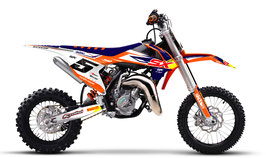 Dekor mit Numberplates KTM SX50 - SX65 Energy Limited Edition