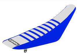 Sitzbankbezug Yamaha White Top - Blue Sides - Blue Ribs