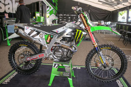 Dekor Kawasaki Monster Energy Military Edition