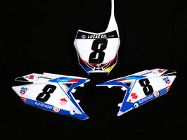 Numberplates JGR Suzuki RedBud Limited Edition mit eurer eigenen Startnummer