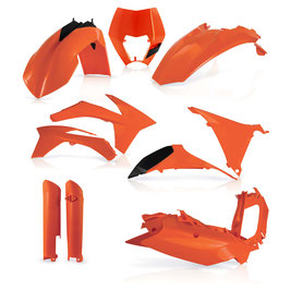 Acerbis Plastik Full Kit KTM EXC EXCF 12 - 13