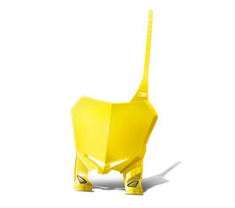 Cycra Startnummerntafel Stadium Plate Suzuki Yellow RMZ250 10/18 + RMZ450 08/17