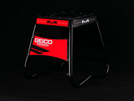Motorradständer Matrix A2 Aluminium - Geico Honda Black