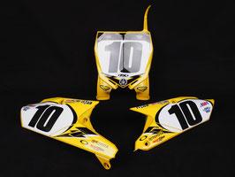 Numberplates JGR Toyota Retro Yamaha mit eurer eigenen Startnummer