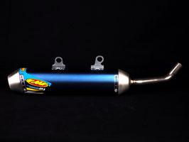 FMF Endschalldämpfer Powercore 2.1 aus Titan → Blau Eloxiert für Husqvarna