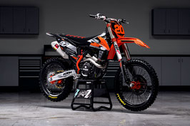 Dekor Diller Powerparts Factory KTM Black Limited Edition
