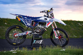 Dekor Factory Husqvarna Signature Blue Limited Edition