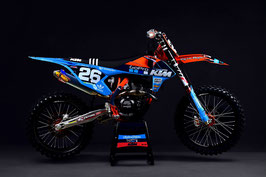 Dekor TLD KTM Washougal Edition Team Kit - Blue
